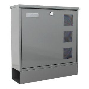 Rottner Briefkasten Postale Grau