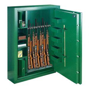 Rottner Waffenschrank EN0 SPORT N 10 Premium Doppelbartschloss grün