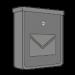 Nerezové a stříbrné poštovní schránky